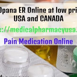 Buy Opana ER Online at low price in USA and CANADA-Medicalpharmacyusa-com